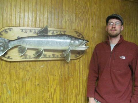 Adam Knowlton  Lake Trout   Vermont