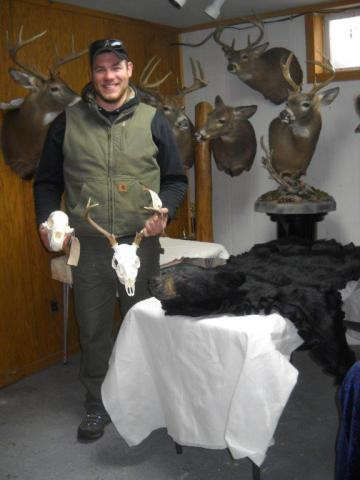 European Mount - 126lb - 4 pts  Vermont
