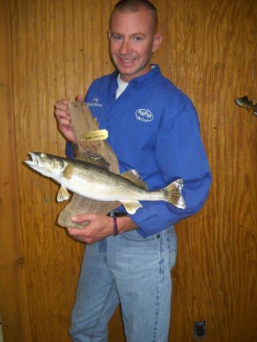 Walleye   18 ½ in   Vermont