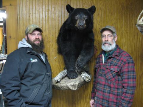 Carter and Bear